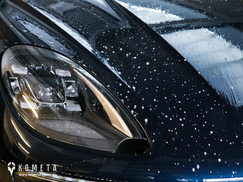 Нанесение пленки на Porsche Macan рисунок 1