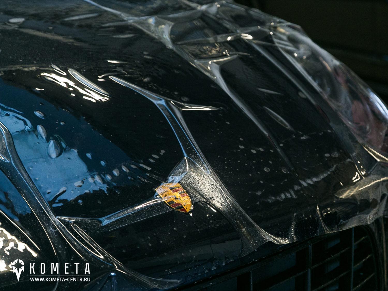 Нанесение пленки на Porsche Macan рисунок 3