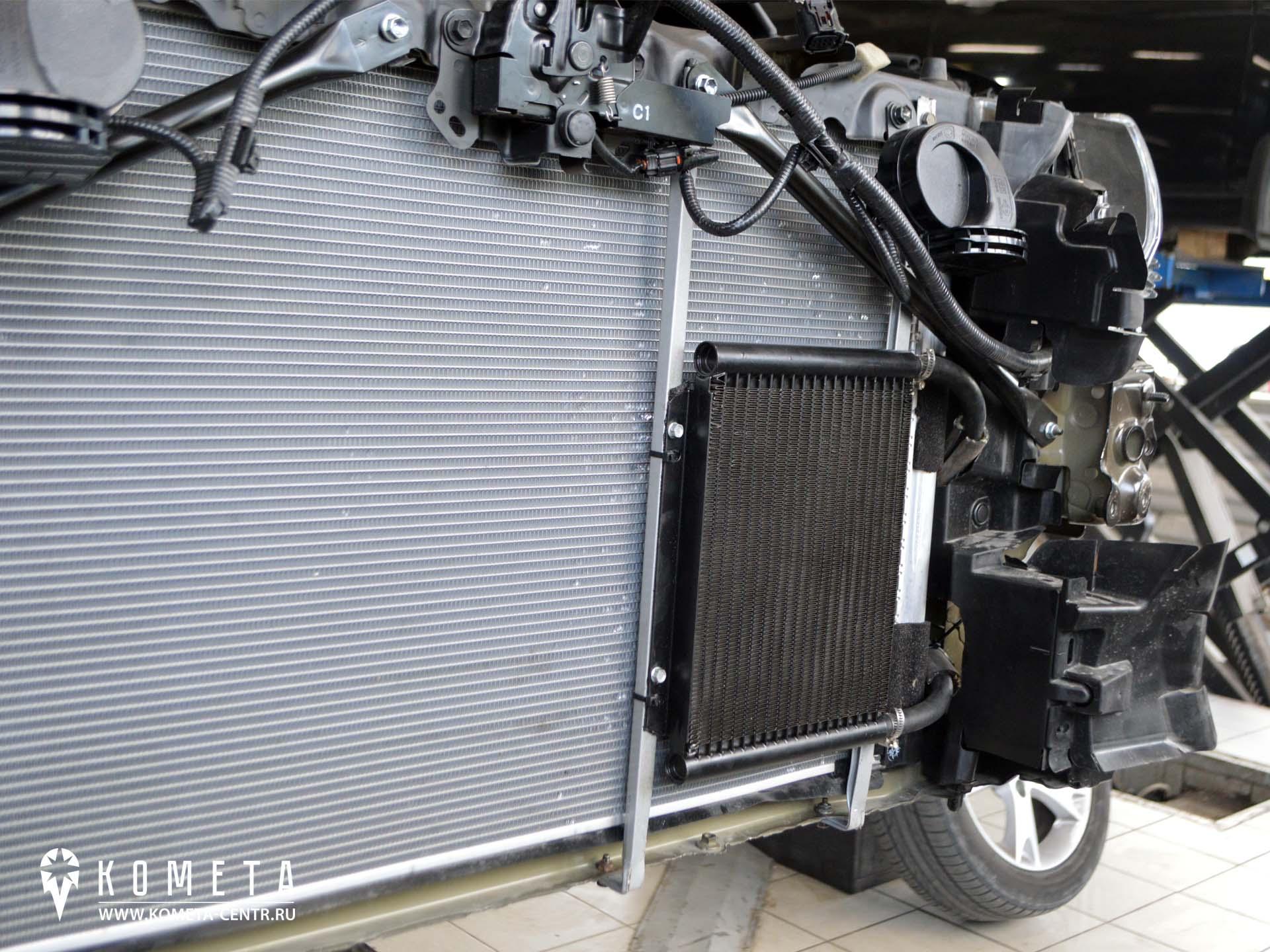 Дополнительный радиатор